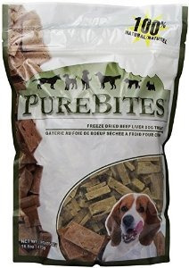 Purebites Beef Dog Treats Hígado