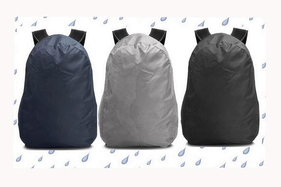 Capa De Chuva Para Mochila Em Nylon 100% Impermeável Até 50l