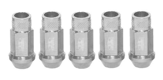 Tuercas Aluminio Blox Lug Nuts 12 X 1.25 Plata Silver Nissan