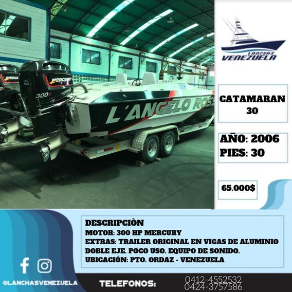 Lancha Catamaran 30 Lv328