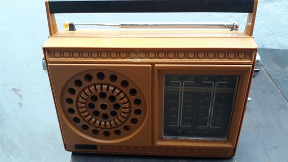 Rádio Portátil Usado Motoradio Modelo Rpm 4 Faixas Funcion