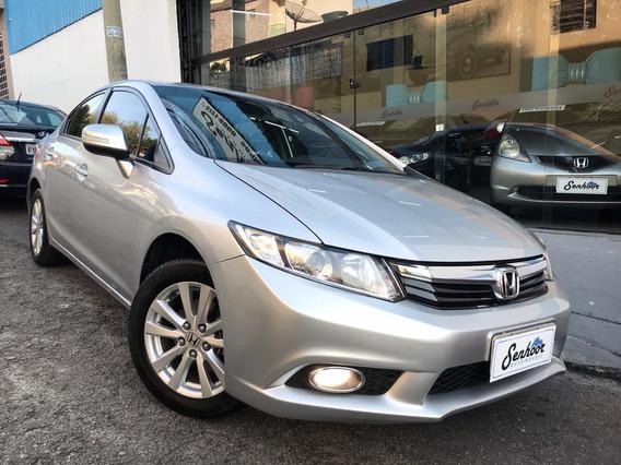 Honda Civic Lxr 2.0 Automatico 2014 - Prata