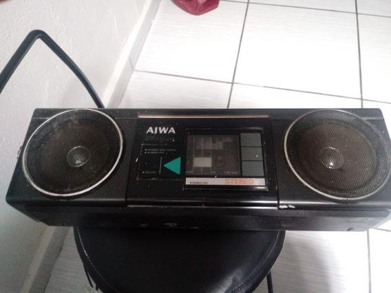 Radio Aiwa Stereo 210 (reliquia Funcionando Tudo)