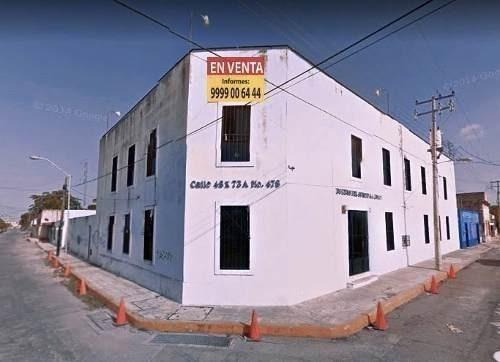 En Remate Edificio Comercial Centro De Merida 1500 M2