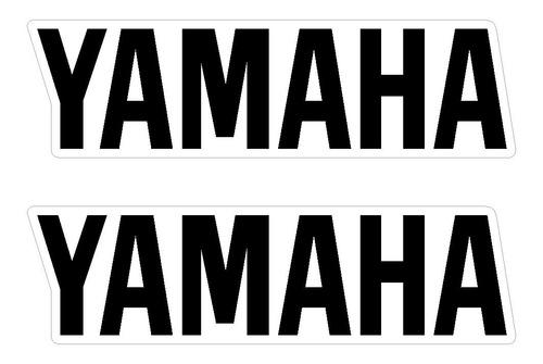 Imagem 1 de 2 de  Adesivos De Balança Yamaha - Varias Cores