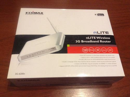 Router Edimax 3g-6200n