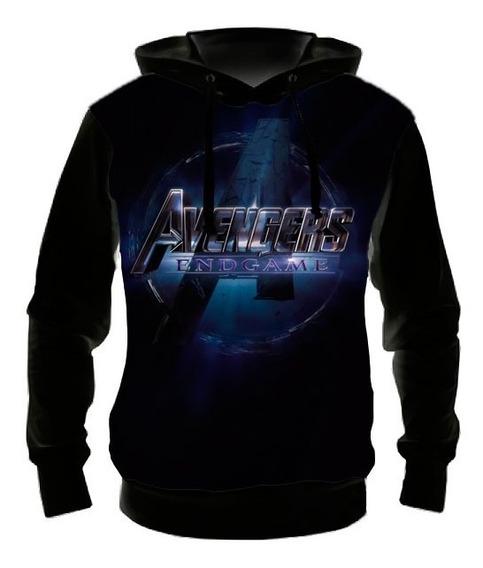 Blusa Moletom Vingadores 4 Ultimato Logo - Casaco Frio