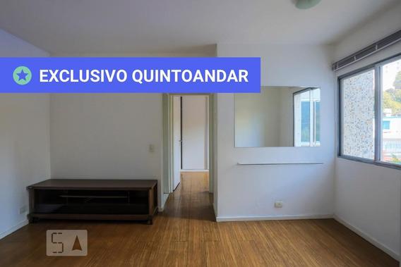 Apartamento No 2º Andar Com 1 Dormitório E 1 Garagem - Id: 892960982 - 260982