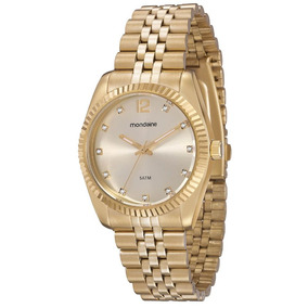 Relógio Mondaine Feminino Riviera Com Strass 94259lpmtds3