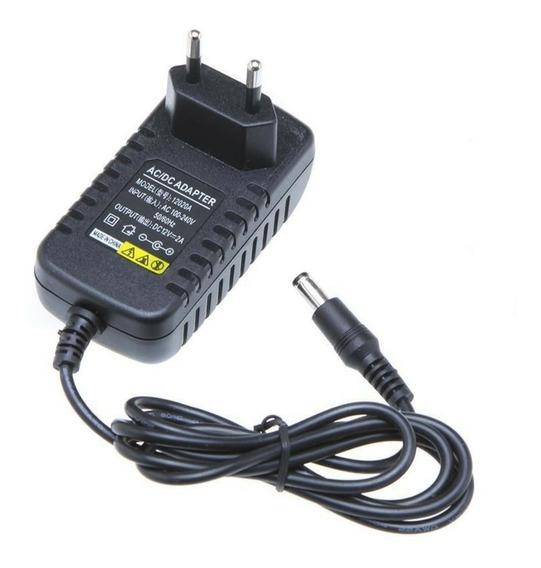 Fonte 12v 2 Amperes - Plasticos Conector P4 100%