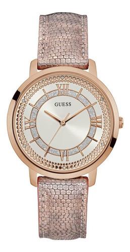 Relógio Guess Feminino Rosê Couro 92635lpgdrc8