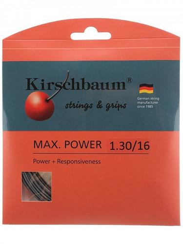 Cuerda De Tenis Kirschbaum Max Power 16 (1.30)