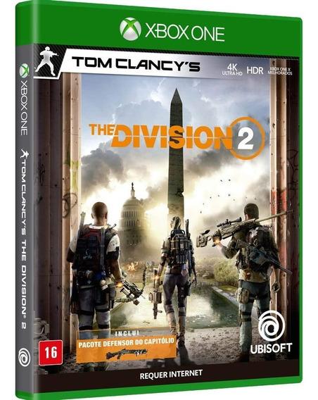 Jogo Midia Fisica Tom Clancys The Division 2 Para Xbox One