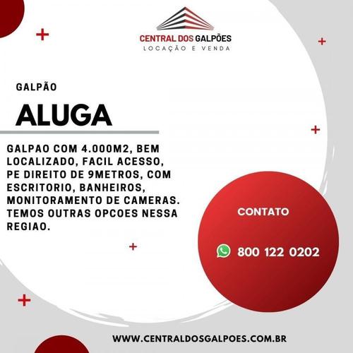 Imagem 1 de 3 de Galpão Para Locação Em Cariacica - Cdg23_2-1164880