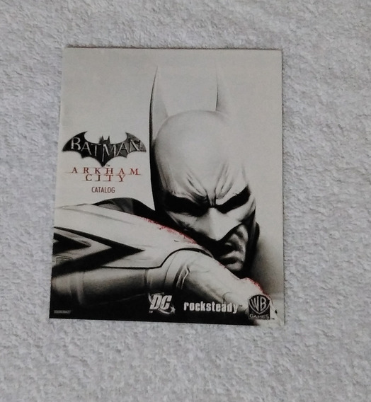Catalogo Do Game Batman Arkham City Ps3 *** Leia