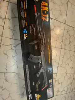 Pistola De Juguete Ak-12