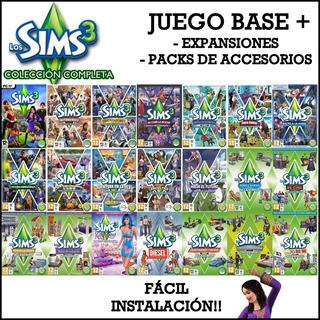 Los Sims 3 Colección Full - Pc (todas Las Expansiones)