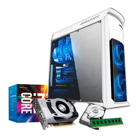 Pc Gamer I7 3770, 32gb, Hd 1tb, Geforce 4gb 1050 Gtx Ti
