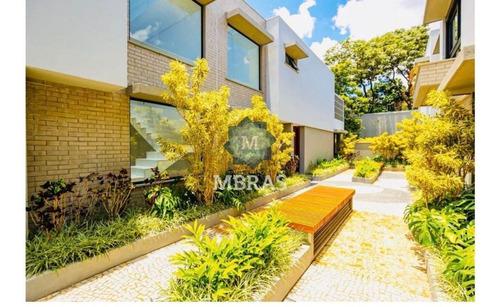 Linda Casa De Condominio Em Moema. - Mb10499