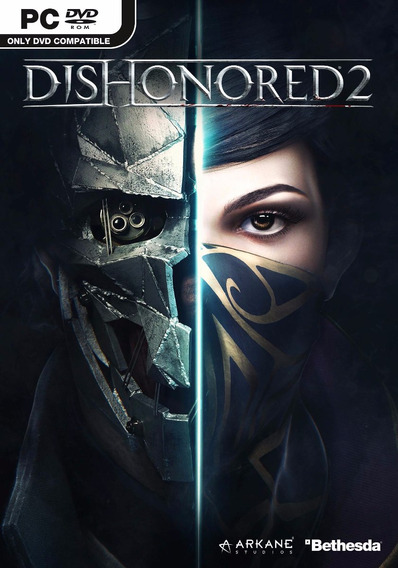 Dishonored 2 (mídia Física) Pc Dvd