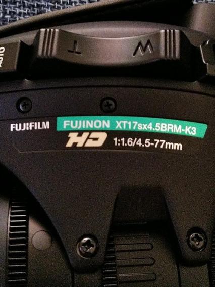 Lente Filmadora Fujinon Xy17sx4.5nrm-k3