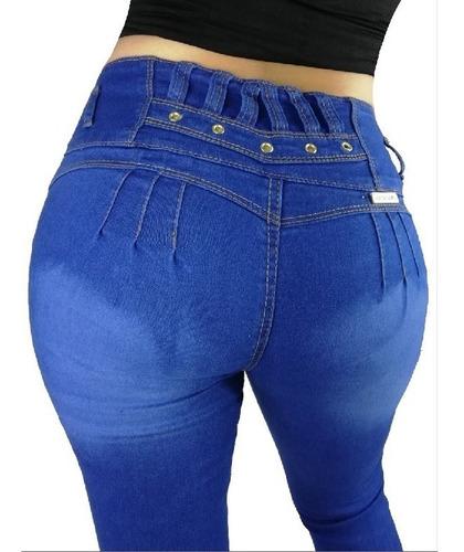 Jeans Dama Corte Colombiano Pantalon Ropa Mujer Push Up Rar Mercado Libre