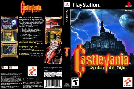 Castlevania Simphony Of The Night - Ps1 - Patch - Dublado