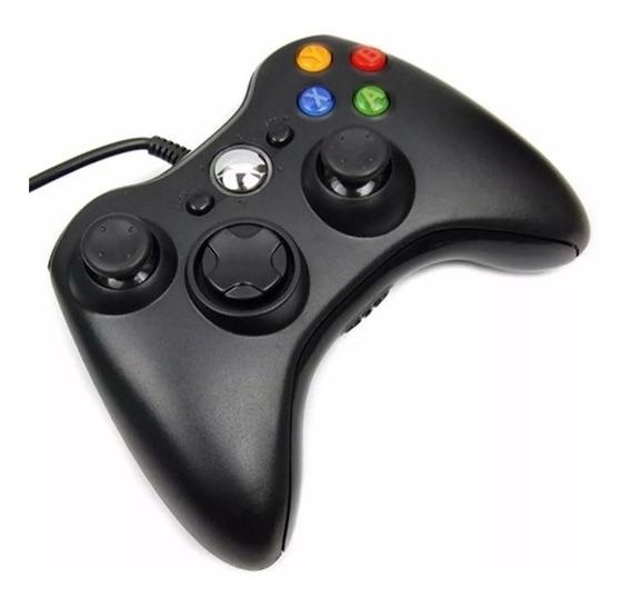 Controle Com Fio Para Xbox 360 - Ct60