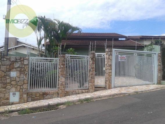 Casa Residencial À Venda, Castelo, Valinhos. - Ca1925