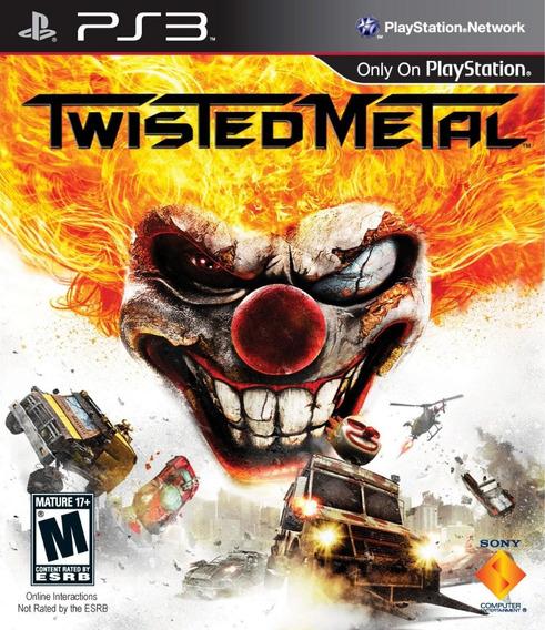 Jogo Twisted Metal Playstation 3 Ps3 Game Sony Corrida Luta