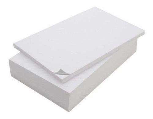 Papel Adesivo Fosco - A4  (não É Gloss) Pcte. C/ 1000 Folhas