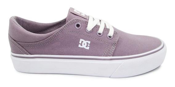 Tenis Dc Shoes Trase Tx Womens Adjs300078 Pun Purple Rain L