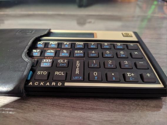 Calculadora Hp 12c Gold.