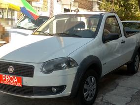 Fiat Strada 100% Financiada En $
