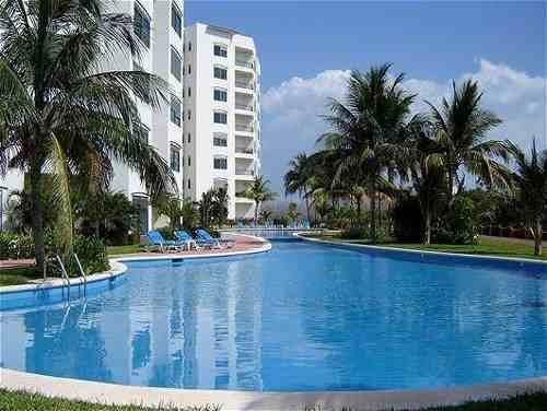 Departamento En Venta Torre Laguna Zona Hotelera, Cancún.