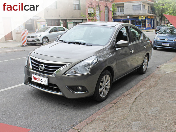 Nissan Versa Extra Full 2015 Nafta Automatico U/d Excelente