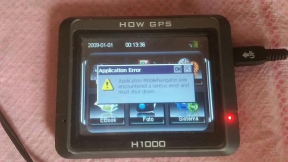 .lote 5 Gps How H100 Vision 400 Navcity Nc450 No Estado Leia