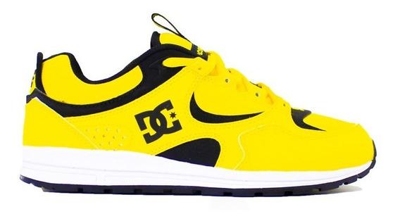 Tenis Dc Shoes Kalis Lite S Yellow Original Original