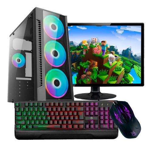 Computador Pc Gamer Completo I5 8gb Ssd 240gb Monitor