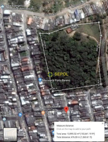 Terreno Residencial À Venda, Guaianazes, São Paulo. - Te0041