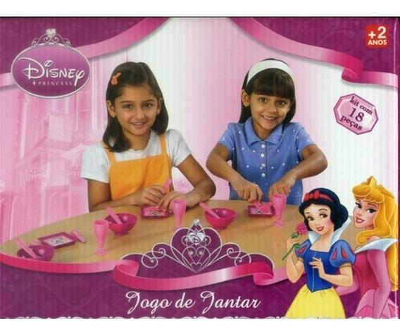 Jogo De Jantar Das Princesas - Faz De Conta Elka 725