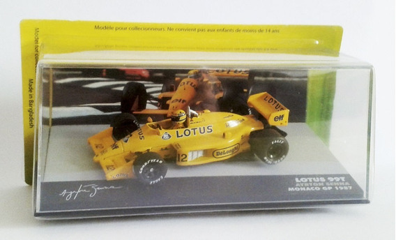 Lacrada Miniatura 1/43 F1 1987 Lotus 99t #12 Senna Eaglemoss