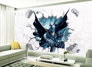 Stiker Decorativo Super Heroe Batman