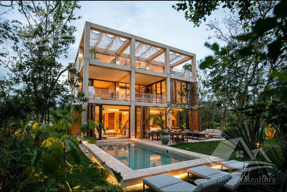 Casa En Venta En Playa Del Carmen Riviera Maya Palm Villas Corasol