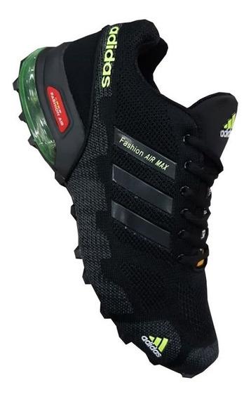 Tenis adidas Fashion Air Max Negro Hombre Zapatillas Origina