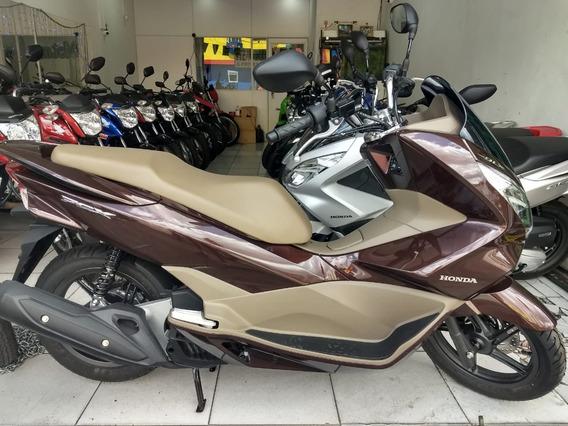 Honda Pcx 150 Dlx Top De Linha Linda Moto