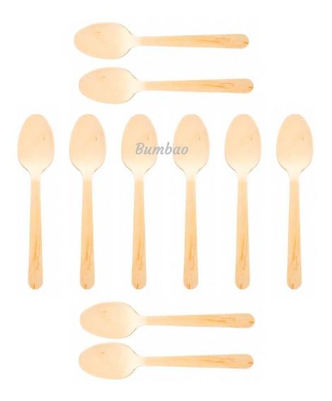 Cucharas De Bambú 20 Cucharas Ecológicas Cubiertos Amigables Con El Medio Ambiente Productos Sustentables No Plástico
