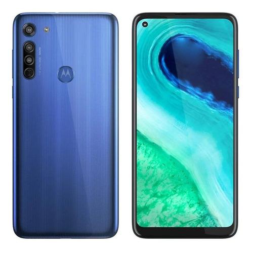 Smartphone Moto G8 64gb 6.4  16mp Xt2045 - Azul Capri