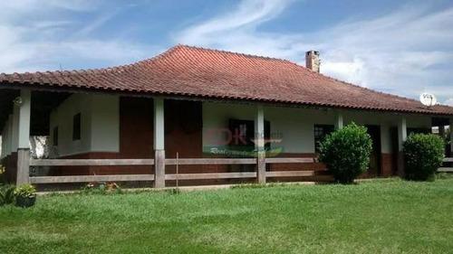 Imagem 1 de 8 de Chácara Com 3 Dormitórios À Venda, 900 M² Por R$ 552.000 - Recreio Santa Rita - Suzano/sp - Ch0545