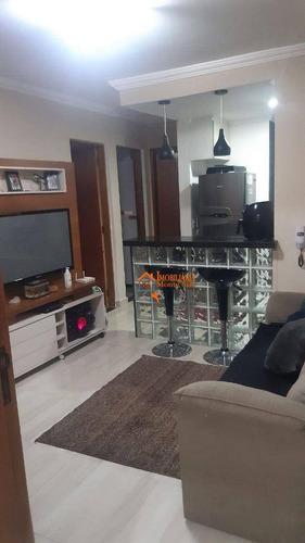 Imagem 1 de 7 de Apartamento Com 2 Dormitórios À Venda, 42 M² Por R$ 200.000,00 - Jardim Silvestre - Guarulhos/sp - Ap3101